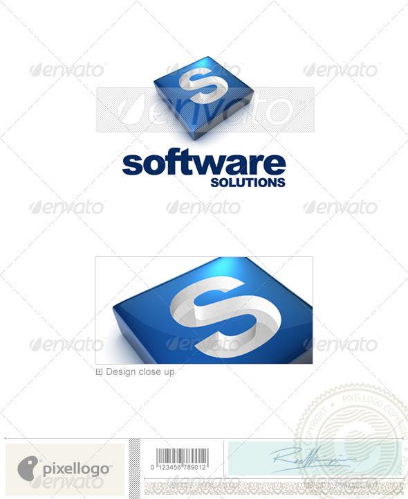 GraphicRiver S Logo 3D-644-S 526501