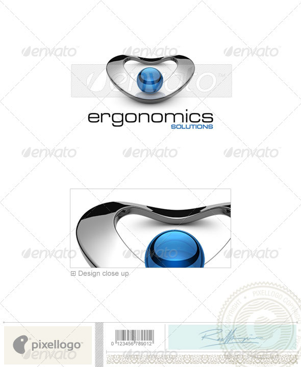 GraphicRiver Technology Logo 3D-538 526511