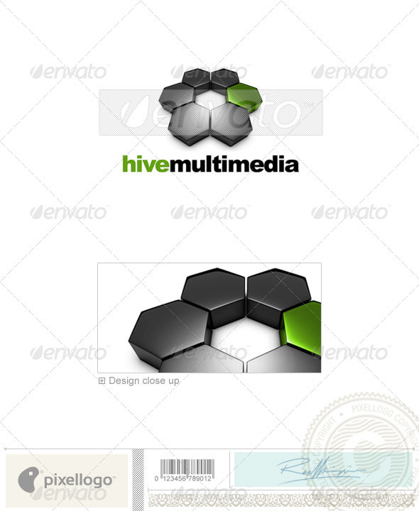 GraphicRiver Activities & Leisure Logo 3D-573 526519