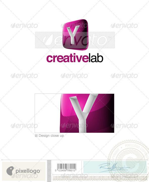 GraphicRiver Y Logo 3D-687-Y 526537
