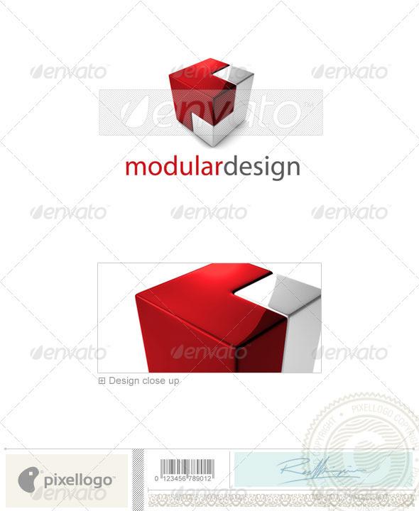 GraphicRiver Technology Logo 3D-696 526549
