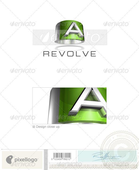 GraphicRiver A Logo 3D-547-A 526569