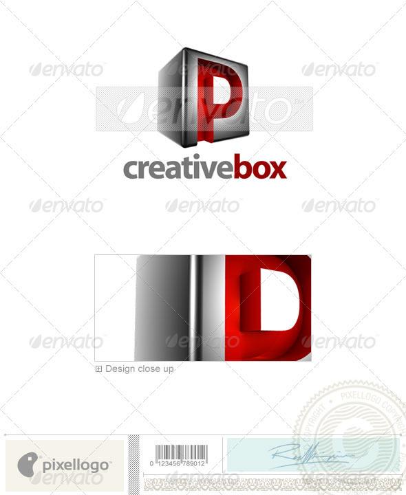 GraphicRiver P Logo 3D-554-P 526574
