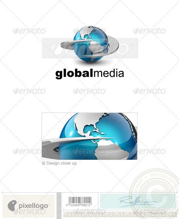 GraphicRiver Communications Logo 3D-557 526598