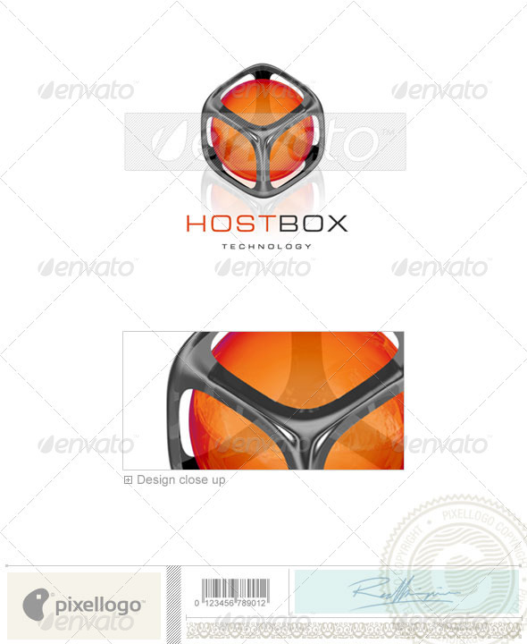 GraphicRiver Technology Logo 3D-83 526603