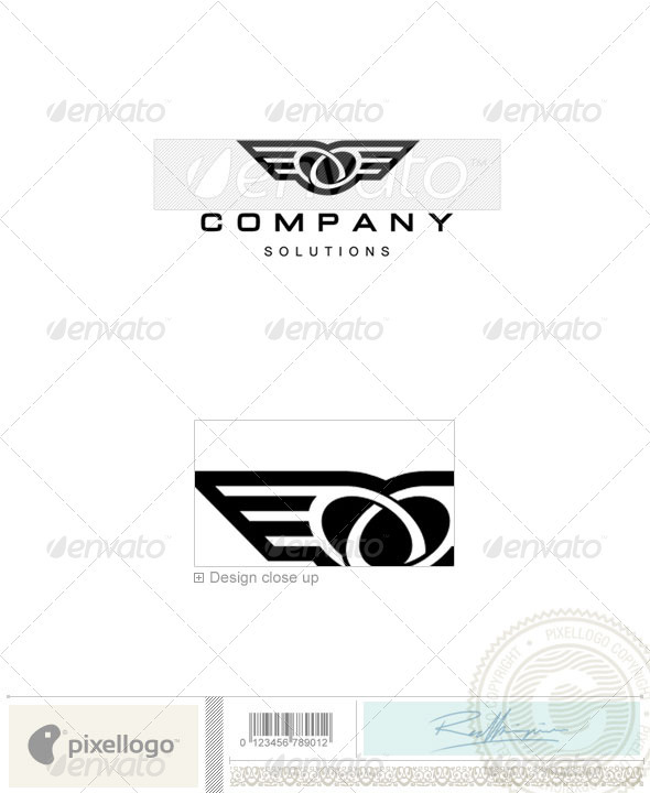 GraphicRiver Transport Logo 834 526636