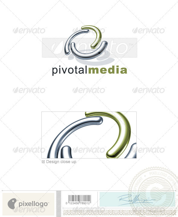 GraphicRiver Technology Logo 3D-678 526659