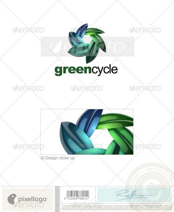 GraphicRiver Nature & Animals Logo 3D-623 526660