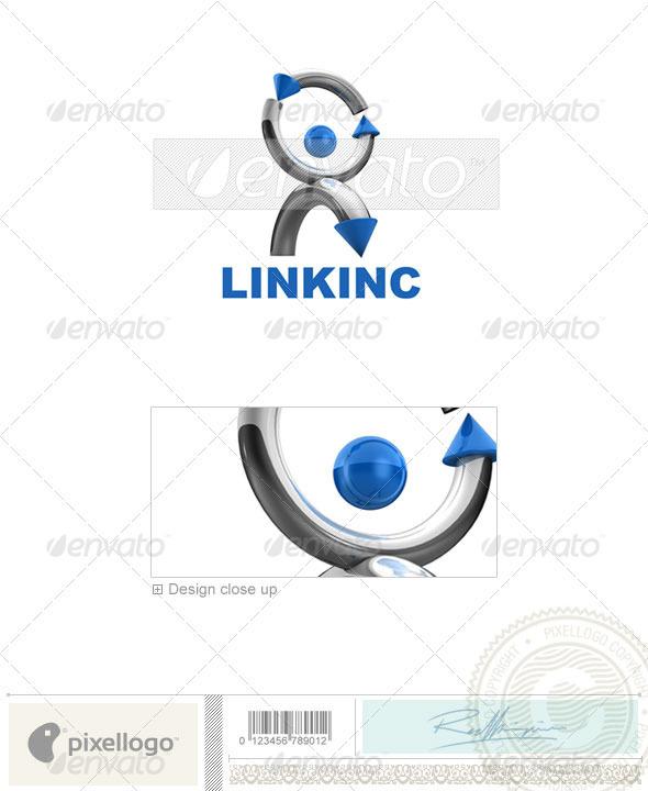GraphicRiver Communications Logo 3D-570 526668