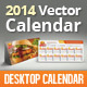 2014, 2015 and 2016 Multi-purpose Desk Calendar - GraphicRiver Item for Sale