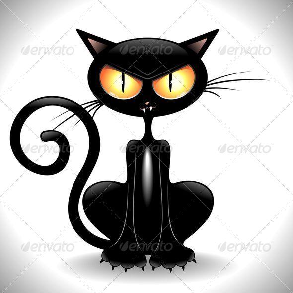 angry cat cartoon - photo #5
