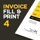 Invoice & Letter Templates IV - GraphicRiver Item for Sale