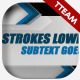 The Strokes - 2 Lower Thirds - VideoHive Item for Sale
