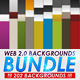 Web 2.0 Backgrounds Bundle - GraphicRiver Item for Sale