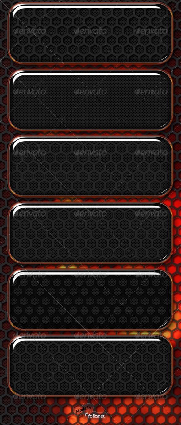 GraphicRiver Dark Metal Textures 526819