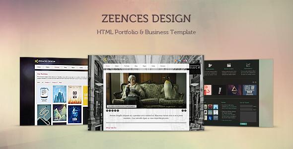 ThemeForest - Zeences - HTML Portfolio & Business Template - RiP