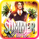 End of Term Summer Party Flyer Template - GraphicRiver Item for Sale