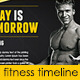 Fitness Gym Fb Timeline - GraphicRiver Item for Sale