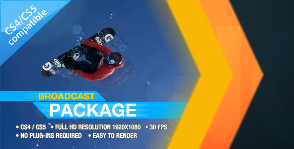 After Effects Project - VideoHive Ident Broadcast Package 521188