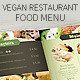 Vegetarian Restaurant Food Menu - GraphicRiver Item for Sale