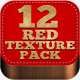 12 Red Blurred and Grunge Textures - GraphicRiver Item for Sale