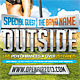 Outside - Flyer Template - GraphicRiver Item for Sale