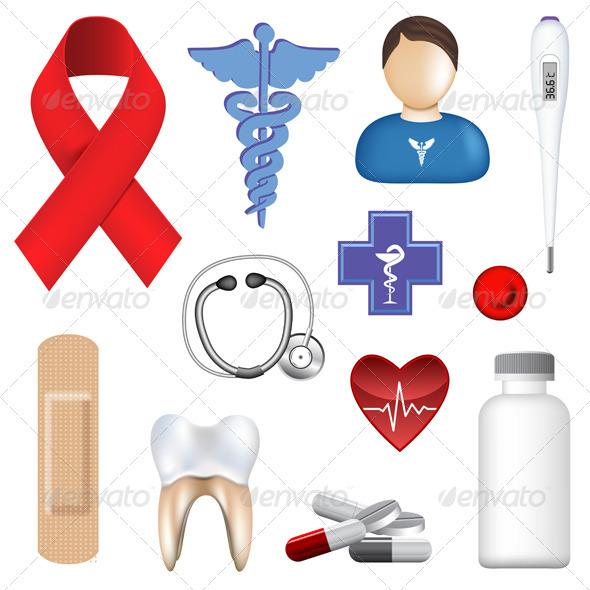 Graphic River Medical Objects Vectors -  Conceptual  Health/Medicine 530377