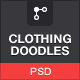 Clothing Doodles Collection - GraphicRiver Item for Sale