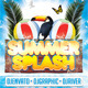 Summer Splash Club Flyer - GraphicRiver Item for Sale