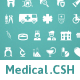 65 Medical Custom Shape - GraphicRiver Item for Sale