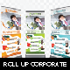 Roll Up Banner Corporate - GraphicRiver Item for Sale