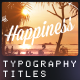 Typography titles | 11 Retro Insignias - VideoHive Item for Sale