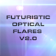10 Futuristic Optical Flares v2.0 - GraphicRiver Item for Sale