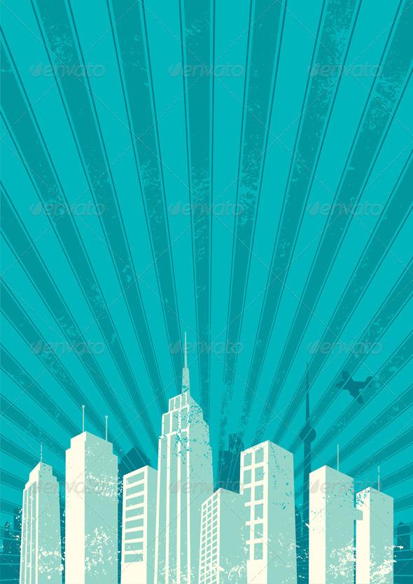 GraphicRiver City Background 532172