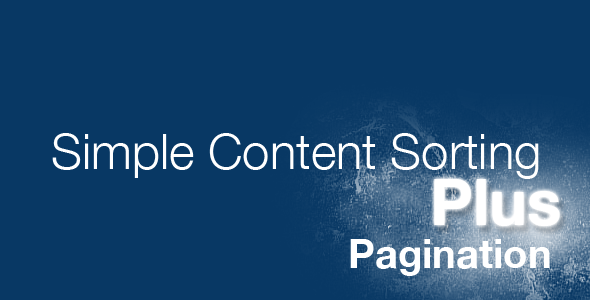 CodeCanyon - jQuery Simple Content Sorting Plus Plugin(Decoded) - RiP