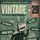 Vintage GIG Poster - GraphicRiver Item for Sale