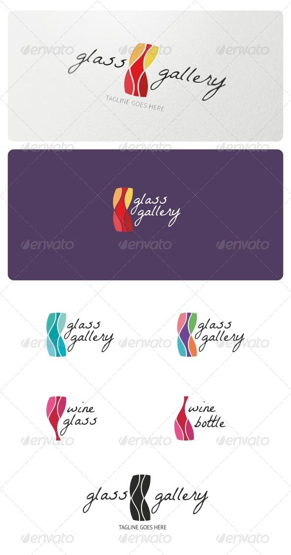 GraphicRiver Glass Gallery Logo Template 5193549