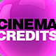 Cinema Credits - VideoHive Item for Sale