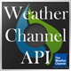 Weather Channel API Interface - CodeCanyon Item for Sale