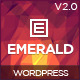 Emerald - Responsive Onepage WordPress Theme - ThemeForest Item for Sale