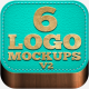 6 Professional Logo Mockups V2 Advanced - GraphicRiver Item for Sale