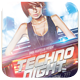Techno Night Flyer - GraphicRiver Item for Sale