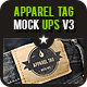 Apparel Tag Mock Ups v3 - GraphicRiver Item for Sale