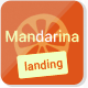 Mandarina, 4 in 1 Responsive Landing Page Template - ThemeForest Item for Sale