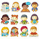 Set of Characters for Web Menu - GraphicRiver Item for Sale