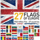 European Union Flags (27 countries) - GraphicRiver Item for Sale