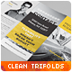 Clean Multipurpose Corporate Trifold Templates II - GraphicRiver Item for Sale