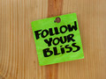 follow your bliss - spiritual reminder - PhotoDune Item for Sale