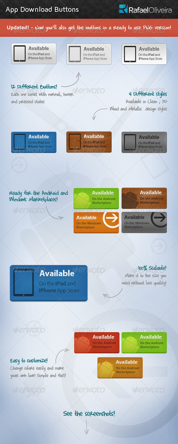 GraphicRiver App Download Buttons 528866