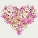 Summer Valentine Garden Flowers Heart - GraphicRiver Item for Sale